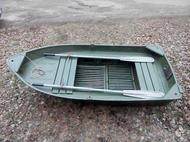 Лодка алюминиевая с веслами Дюралюминевая ссср