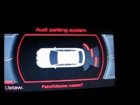 Audi seat skoda vw aktywacja wizualizcaji systemu parkowania