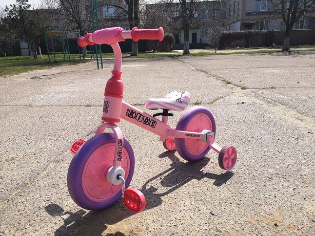 Детский велосипед, беговел, велобег