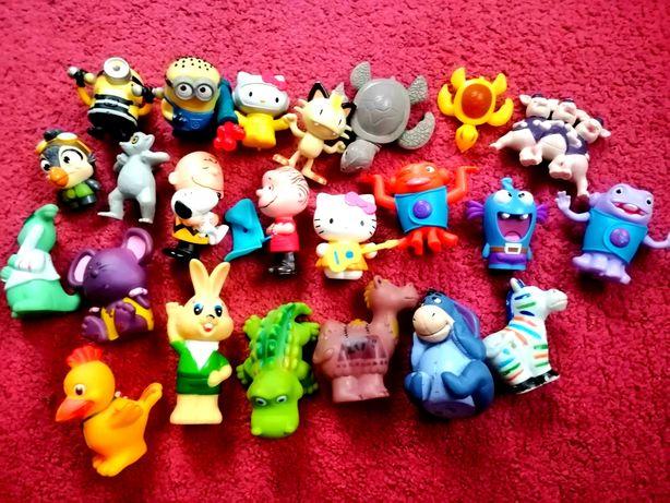 Резиновые игрушки звери.