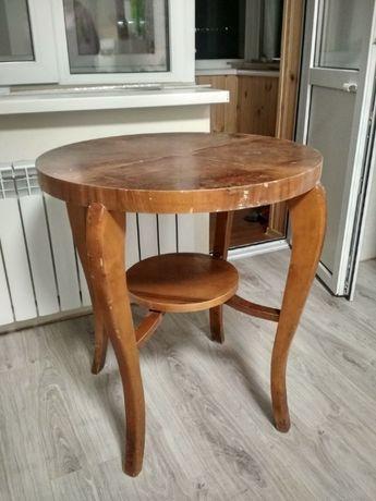 столик винтажный круглый