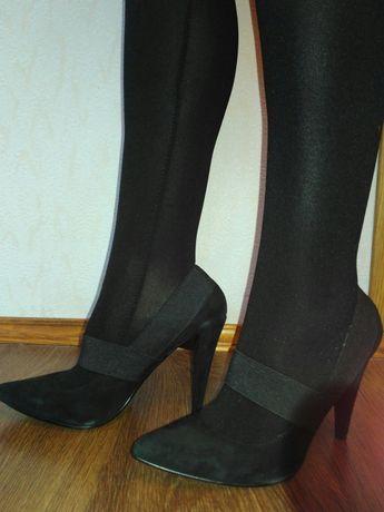 замшевые туфли - лодочки billiani на каблуке