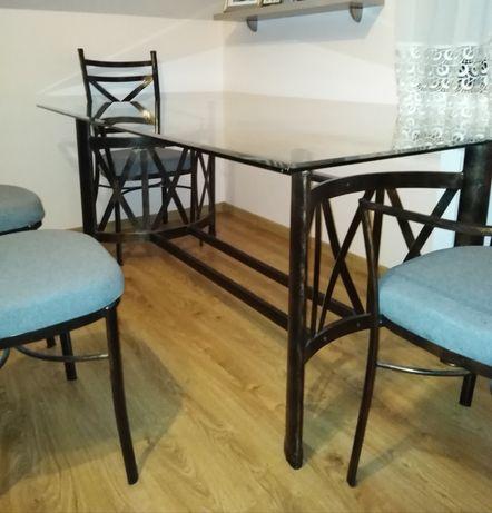 Sprzedam stół + 6 krzeseł