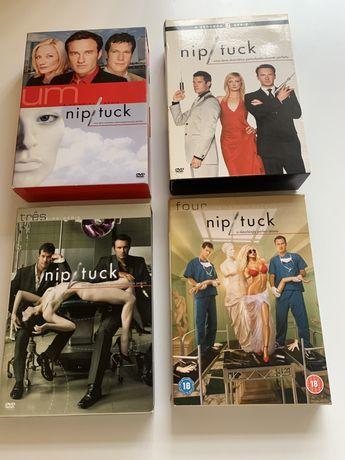 DVD Séries NIP/TUCK, FLASHFORWARD, TRUE DETECTIVE, WHITE COLLAR
