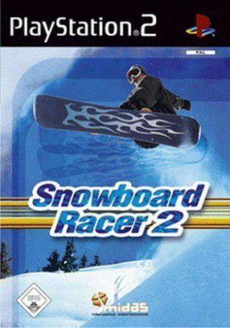 """PS2 - Jogo """"Snowbord Racer 2"""" c/ manual de instruções"""
