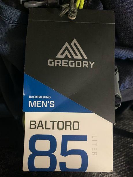 Эксклюзивный рюкзак Gregory Baltoro 85 L a3 Navy Blue