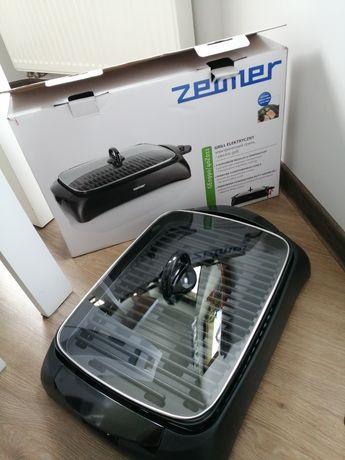 Grill elektryczny zelmer 1500W czarny