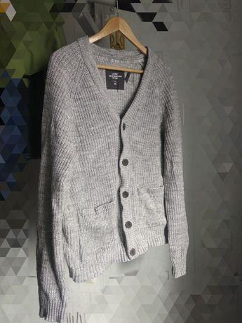 Кардиган HM мужской XL вязанный, кофта, свитер, джемпер