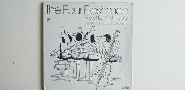 The Four Freshmen and... Live at Butler University Vinil LP Duplo