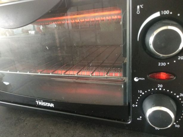 Mini forno elétrico Tristar - funciona a 100%