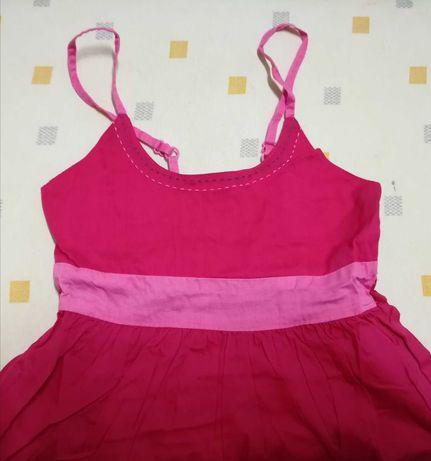 Vestido de alças de criança em algodão 4 anos - 102 cm Vertbaudet