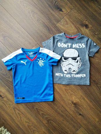 Koszulki dla chłopca Puma sportowa oryginalna Star Wars 92 98 cm 2-3l.