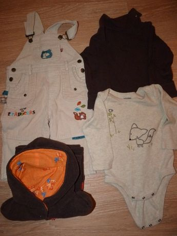 Lote de roupa menina 12 /18 meses