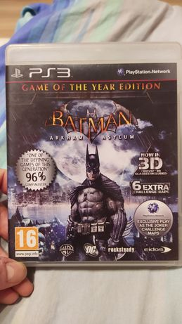 Gra Batman Arkham Asylum GOTy na konsole ps3 playstation 3