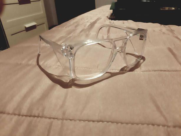 Óculos de proteção | lentes | novos