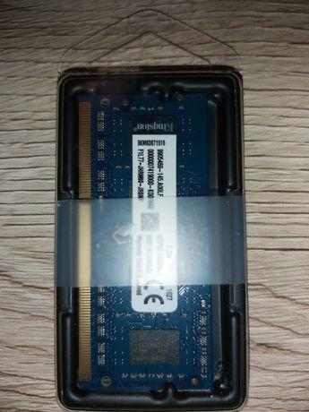 Nowa pamięć  Kingston KCP3L16SS8/4 DDR3L 4GB 1,35V CL11 1600MHz sodimm