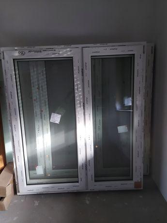 Okno biale dwustronnie
