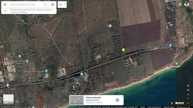Земельный участок 5 соток, рядом море, пляж пгт Черноморское
