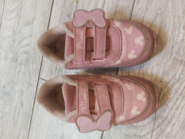 Adidasy myszka minnie mickey 22 ccc 13cm tanio buty dziewczynka
