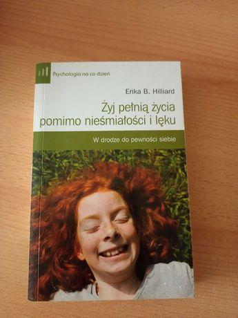 """sprzedam książkę ,, żyj pełnią życia pomimo nieśmiałości i lęku"""""""