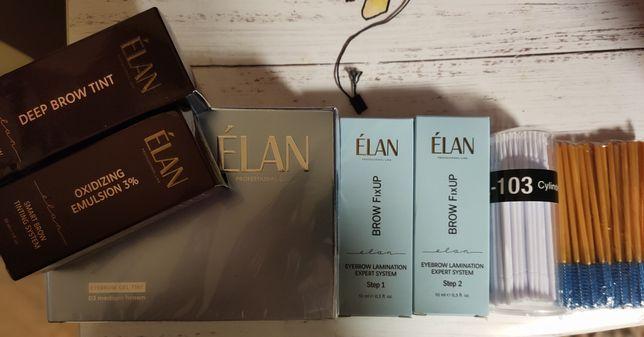 Краска для бровей Elan оттенок medium brown