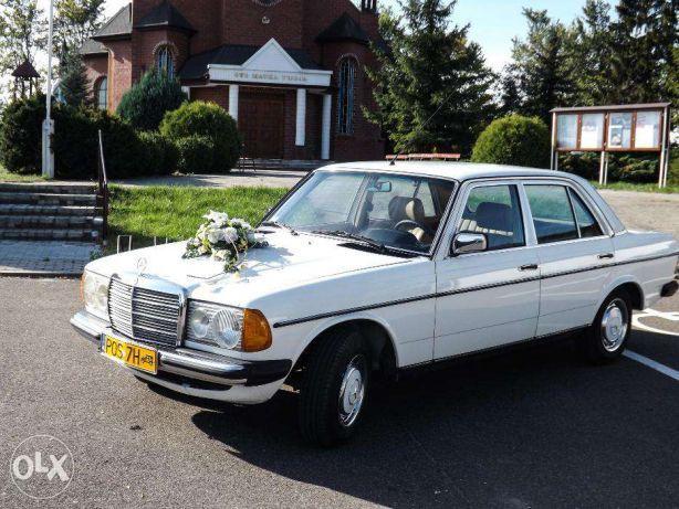 Auto do ślubu zabytkowy Mercedes