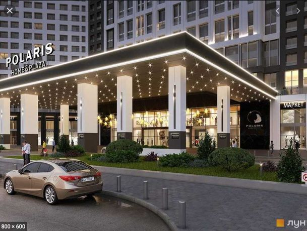 POLARIS Home&Plaza (Полярис) - 1 ка 43м2, 1 секция