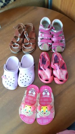 Пакет оптом 5  Босоножки сандали босоніжки 22-23 разм Zara Bartek Nike