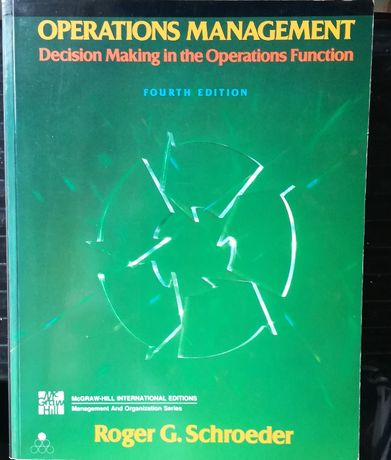 Operations Management Decision making in the operations function