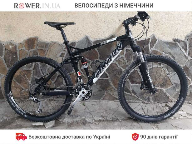 Весь на Deore XT / Велосипед бу Canyon 10 26 / Велосипеды двухподвес