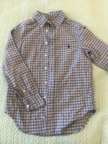 Рубашка в школу, нарядная для мальчикаRalph Lauren 7-9 лет, новая