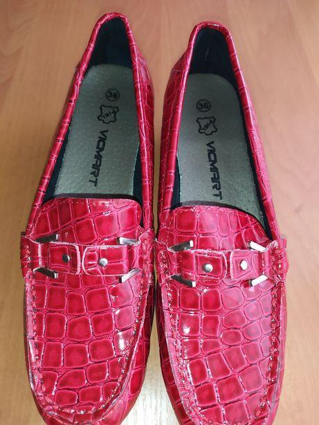 Красные туфли на каблучке, 36р.