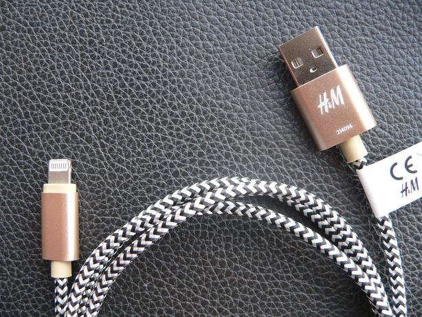 Cabo USB para carga da H&M