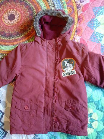 Nowa chłopięcą kurtka zimowa Scooby-Doo 5-6lat (do 116cm )
