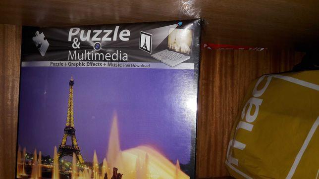 Puzzle 1000 peças interativo e por abrir