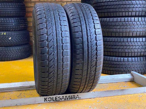 215/65 R16 Bridgestone, шины зима, 2 шт, 6,8 мм, 2016 (205/225/60/70)