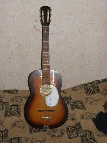 """Винтажная гитара """"KANSAS"""" (1950е годы)"""