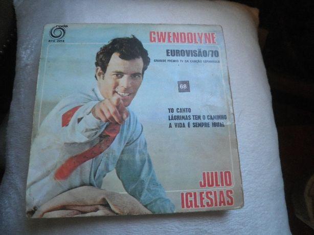 Coleccionadores de discos vinil antigos-década 70