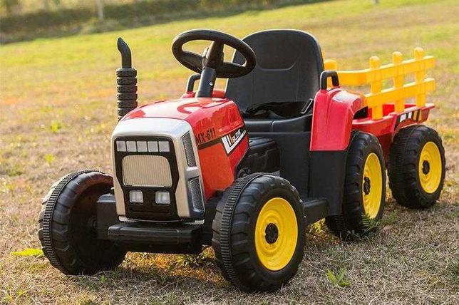 WYSYŁKA! Nowe traktorki BLOW XMX611 dla dzieci. TRAKTOR z pilotem