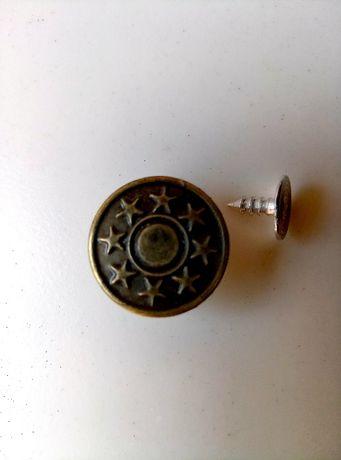 Джинсовая пуговица 17 мм