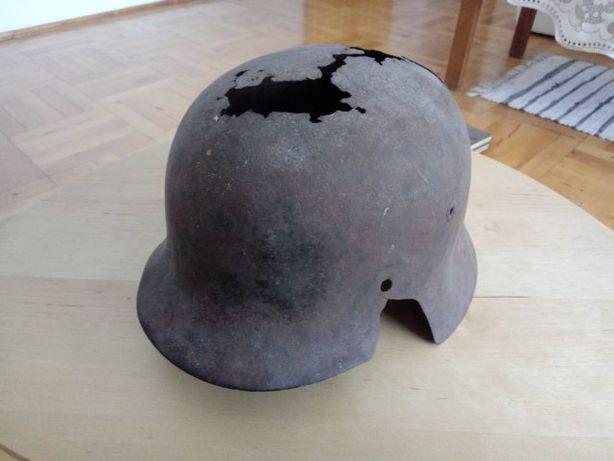 Oryginalny niemiecki hełm SS