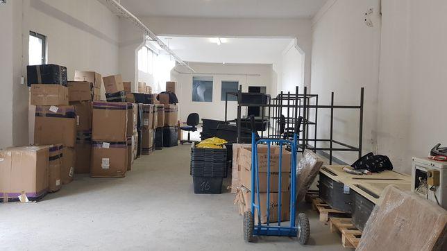 Magazyn z biurem i rampą/ pow. 230 m2/ Gdańsk Nowy Port