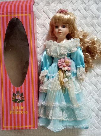 Кукла Little Princess, фарфор, новая в упаковке