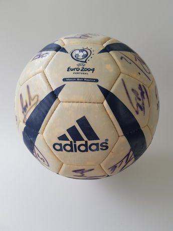 Bola de Futebol Assinada Jogadores SL Benfica 2003/2004