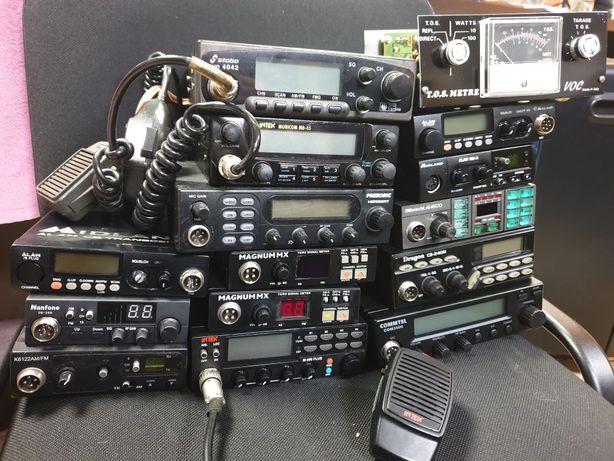 CB RADIO 14x likwidacja serwisu CB, President Herbert ALAN Stabo Magnu