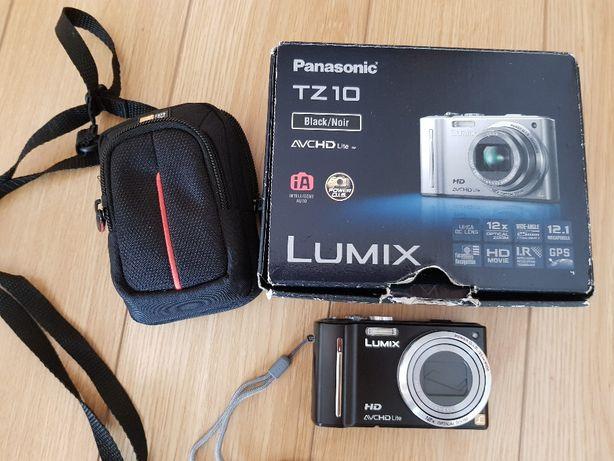 Máquina fotográfica Panasonic Lumix TZ 10 - Lente Leica