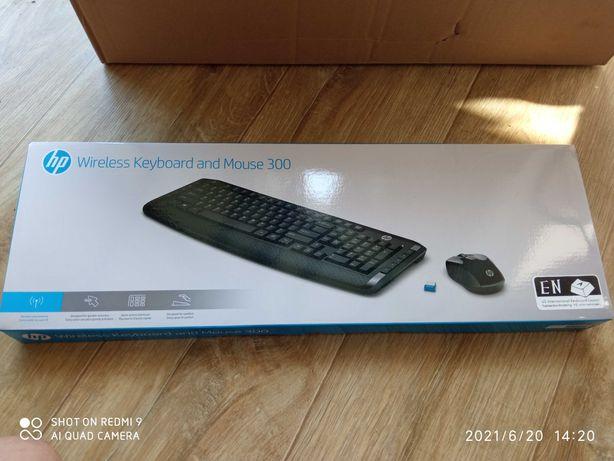 Bezprzewodowa klawiatura i mysz HP 300