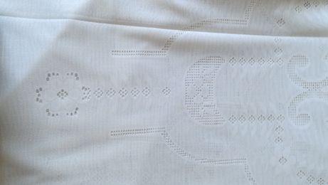 Tecido (nylon branco) para cortinados