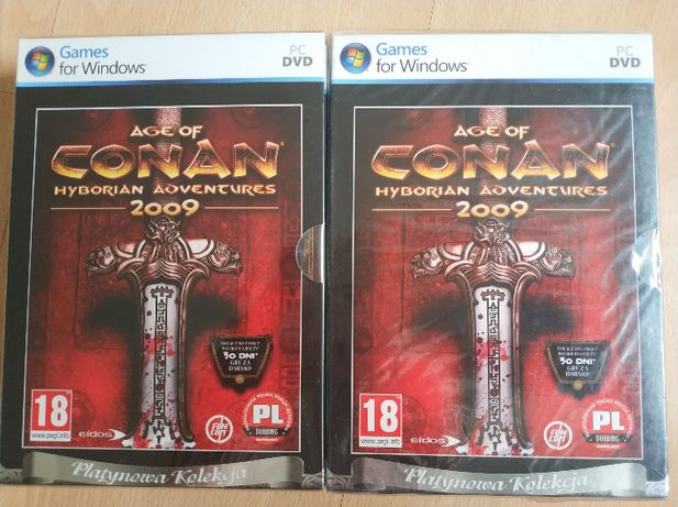 Gra Age of Conan Hyborian Adventures Platynowa Kolekcja PC