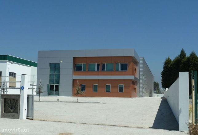 Pavilhão Industrial. Edifícios de escritório e armazém